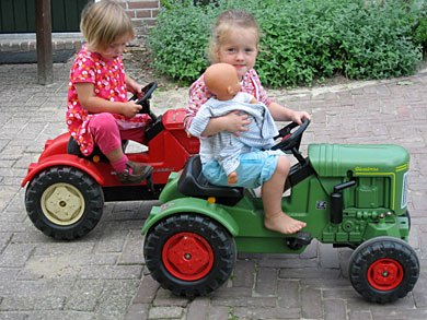 op-de-tractor